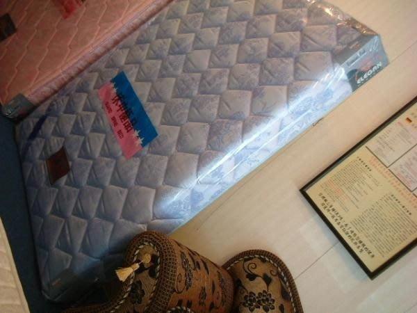 ※高雄~專業睡眠館※歐式『超硬式加強』鎢鋼護背彈簧床墊 單人可訂製尺寸~雙ISO國際品質認證