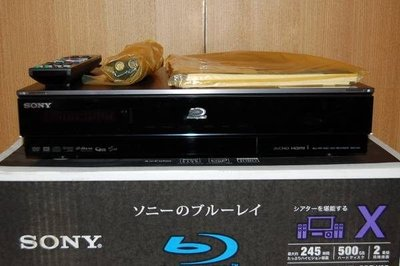 行家的最愛SONY BDZ-X95旗艦藍光錄放影機 (500G HD/2BS TUNER/ 2 HDMI) 庫存展示機(比EW500高級)