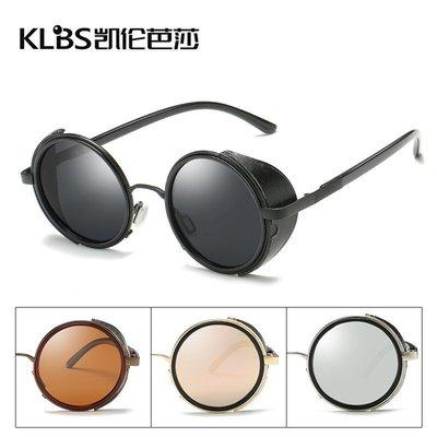 [凱倫芭莎]2003眼鏡鏡框墨鏡太陽眼鏡鏡片偏光太陽鏡厚邊貼皮太陽鏡彩膜朋克歐美潮流墨鏡批發57846