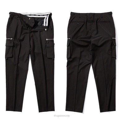【美國鞋校】預購 Supreme Jean Paul Gaultier Pinstripe Cargo Suit 西裝褲