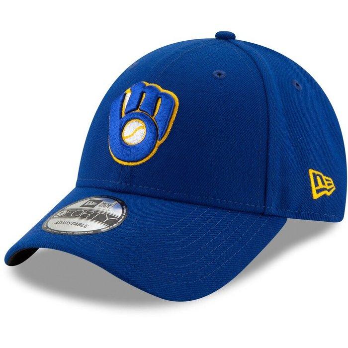 【BJ.GO】Milwaukee Brewers New Era 9FORTY 釀酒人隊 可調棒球帽