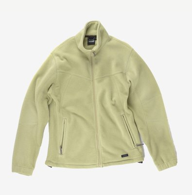 AIGLE Fleece Jacket 薄荷綠 L 刷毛 中層衣 外套 口袋 戶外 保暖 高雄市
