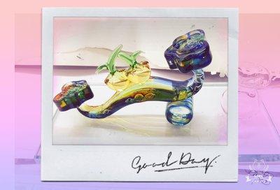 [玻璃國] 手工 玻璃筆  琉璃筆 事事如意琉璃墨水座(小組)  事事如意墨水座   送禮自用皆宜