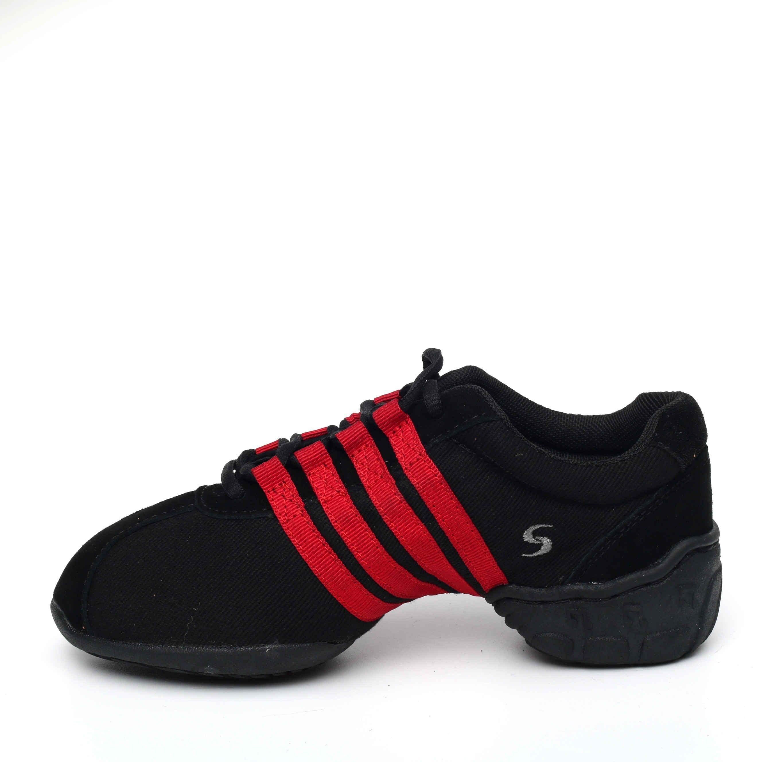 Afa安法國標舞鞋/拉丁舞鞋~~多功能運動舞鞋 原價$2,300~~70606 紅色邊條