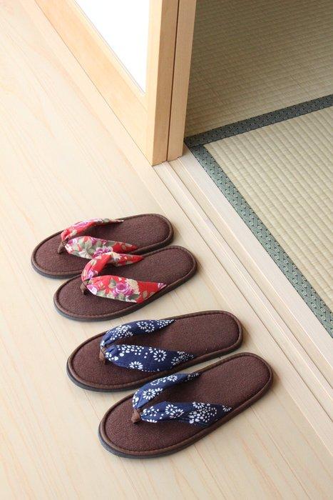 《齊洛瓦鄉村風雜貨》日本zakka雜貨 室內和服夾腳拖 和式室內拖 室內夾腳拖 室內拖 室內拖鞋