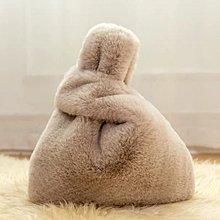 DAFA 冬日質感毛毛手提包 毛毛肩背包 毛毛側背包(附鏈條)手拿包 現貨~~~