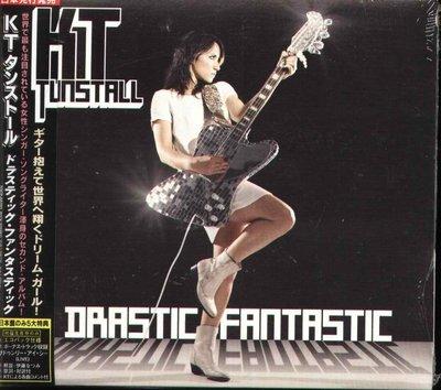 K - KT TUNSTALL - Drastic Fantastic - 日版 +1BONUS - NEW
