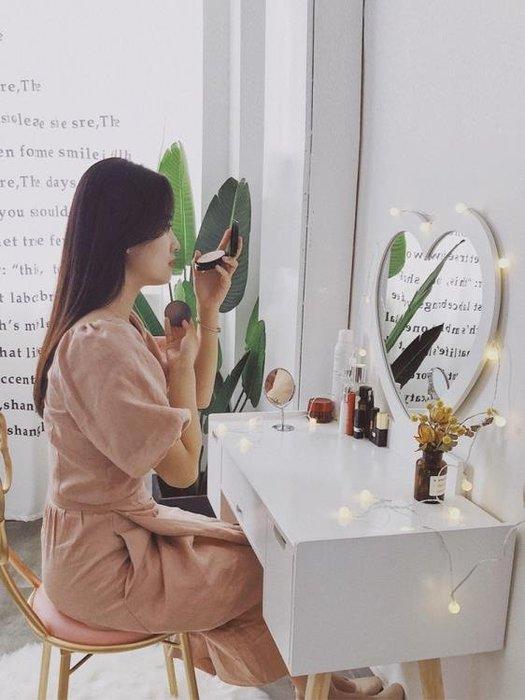 梳妝台臥室化妝桌簡約化妝櫃小戶型迷你網紅ins風化妝台經濟型YSY
