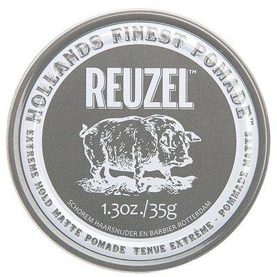 【Orz美妝】REUZEL Extreme Hold Matte Pomade 灰豬 極強水泥級無光澤髮蠟 113G