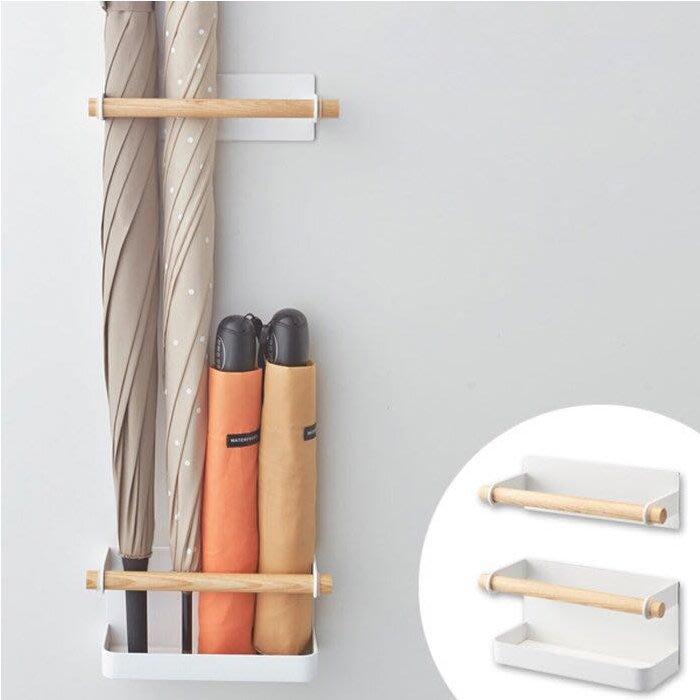 雨傘架 簡約創意雨傘收納架 磁鐵吸鐵式壁掛站立傘架 js2458