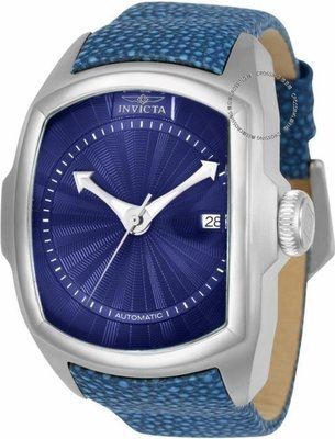 展示品 Invicta 24029 Lupah Revolution Automatic Reptile Embossed Leather Mens