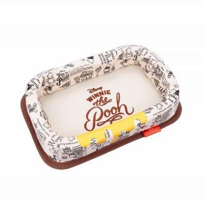 愛淨小舖-【PH-168】日本NAPOLEX  維尼儀表板置物盒 黏貼式帆布儀表板多功能置物盒
