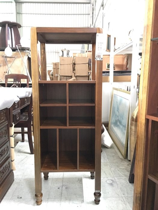 大高雄冠均二手貨家具(全省收購)---【全新】半實木裝飾櫃  置物櫃   收納櫃