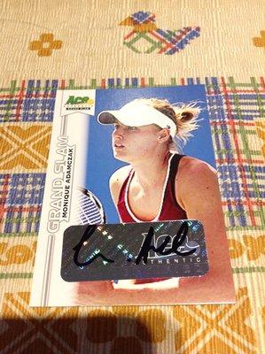 2013 ACE Grand Slam - Monique Adamczak 簽名卡
