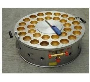 正宗燒瓦斯旋轉式32孔紅豆餅機,紅豆餅機