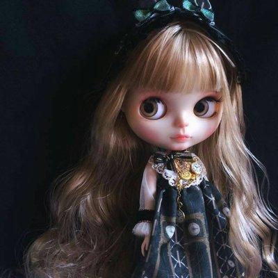 Blythe小布【彩繪改妝】 碧麗絲 芭比娃娃 小布娃娃 大頭娃娃 玩具 模型 公仔 洋娃娃