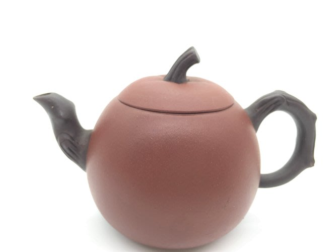 雙色紅棗紫砂壺