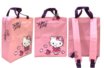 {阿猴達可達美妝館} SOGO限定 Hello Kitty 粉漾夢幻後背包 全新特價150元