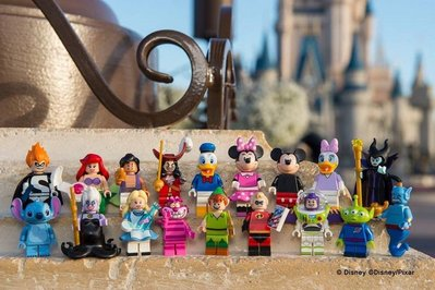 (bear) 全新現貨 樂高 LEGO 71012 迪士尼 人偶 Disney minifigures 一套18隻