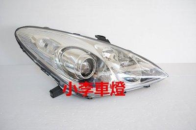 ~李A車燈~全新品 外銷精品件LEXUS 凌志 ES300 ES330 04 05 06 原廠型晶鑽大燈一邊7500元