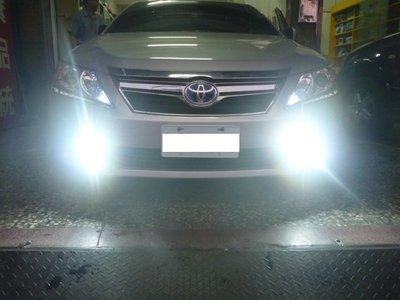 (柚子車舖) 豐田 SIENTA 直上 LED 9W 霧燈-可到府安裝 100%台製品,保固2年 a