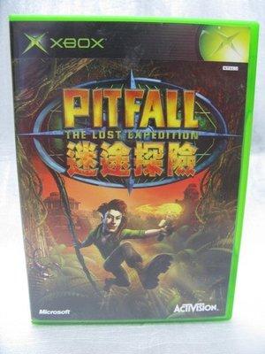 XBOX正版遊戲光碟 PITFALL 迷途探險(非PS PS2 PS3 PSP WII XBOX360 MP3 MP4)