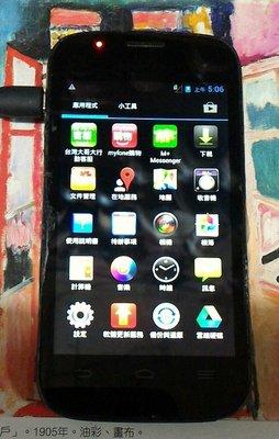 $$【故障機】 Taiwan Mobile amazing A4c『黑色』$$