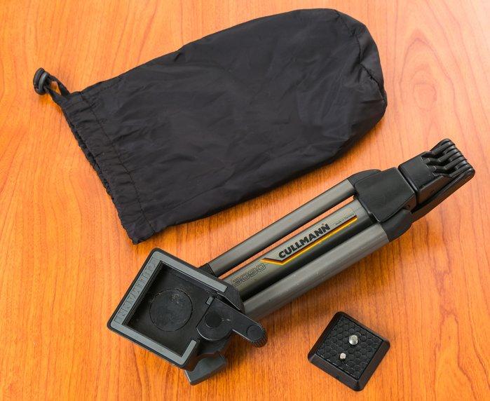 二手新中古:Cullmann 3090肩托輔助架+桌上型三角架 2用肩架 錄影穩定 減壓