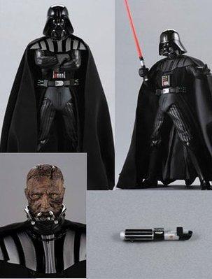 Medicom RAH DARTH VADER 黑武士 Star Wars 星球大戰