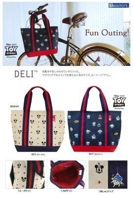 Arcturus[Bags]日本ROOTOTE OTONA DISNEY 米奇星星刺繡 手提肩背包