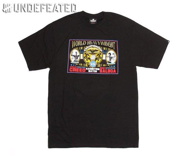 【 超搶手 】現貨 全新正品 2011 經典電影洛基聯名Undefeated X Rocky Heavyweight Tee 黑白灰 S M L XL