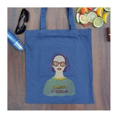 手提包 帆布包 手提袋 環保購物袋【DEA61-2】全新瑕疵品