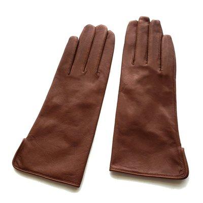 新品上市#秋冬新品女士簡約羊皮真皮戶外防寒防風開車防滑保暖手套