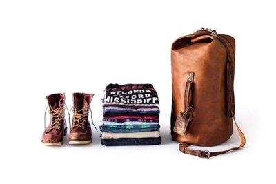 WHIPPING POST MILITARY DUFFLE 植鞣真皮革 斜背包 旅行李袋 美軍事越戰背袋 拳擊包 現貨