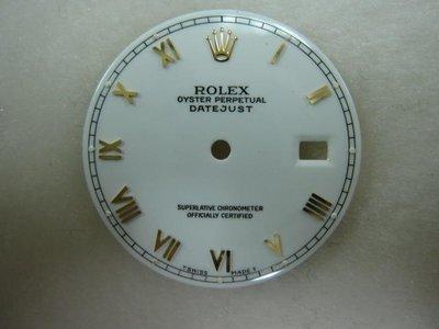 勞力士 rolex 16233 16013 原裝面板 無翻寫 腳位完整