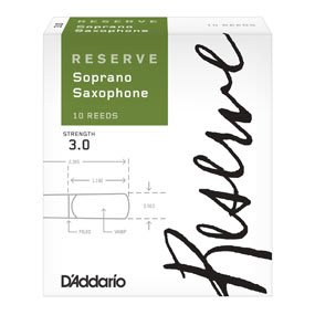 §唐川音樂§【Daddario  RESERVE Soprano SAX REED 薩克斯風 高音 竹片 10片裝】