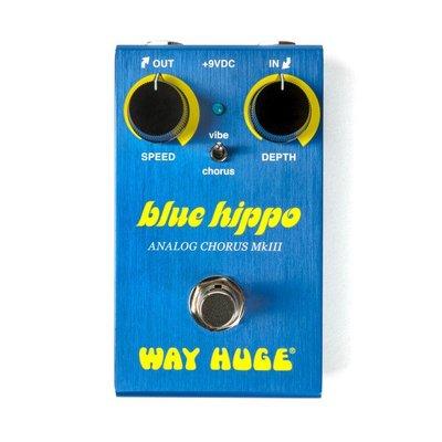 Way Huge WM61 Mini Blue Hippo 合聲效果器|BigNose