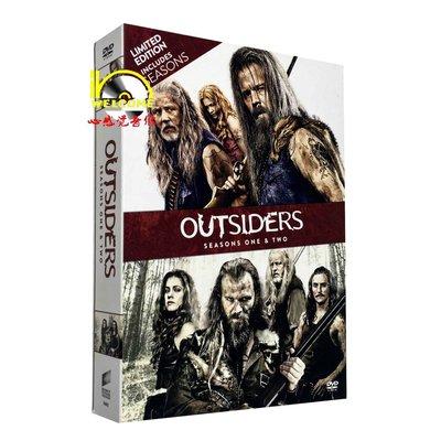 美劇原版DVD Outsiders 外人止步/外來者1-2季 完整版 8碟裝DVD 精美盒裝