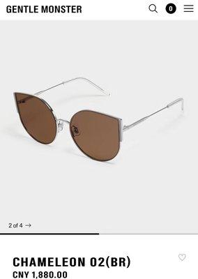 GENTLE MONSTER 韓國V牌真品 chameleon 新款太陽眼鏡 墨鏡