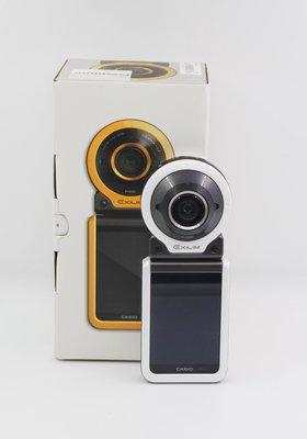 【青蘋果】Casio EX-FR100 白 翻轉螢幕 可分離二手數位相機 自拍神器  相機#DD062