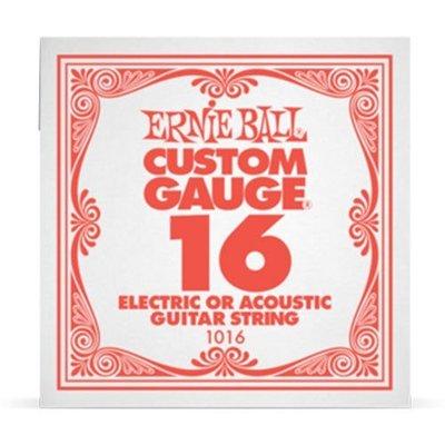【華邑樂器36721-3】ERNIE BALL 電&民謠吉他G弦-第三弦 16 (老鷹牌CUSTOM GAUGE)