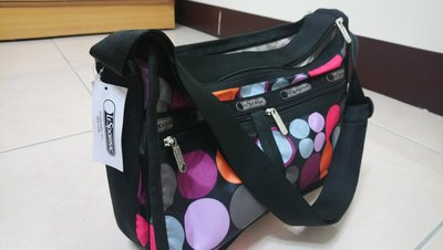 Lesportsac (Deluxe Everyday Bag)斜背包/尼龍包 (全新品)