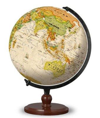 日本正版.古代地球儀 540片絕版3D立體塑膠球型拼圖.2999-8020