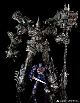 變形玩具 絕創 G-CREATION MTST-01Wrath電影 鋼鎖 鋼索 雕像變形