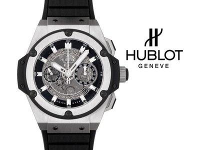 Hublot 宇舶錶 Big Bang King Power 48mm 瑞士 鈦金屬 計時 機械錶 手錶 701.NX.0170.RX