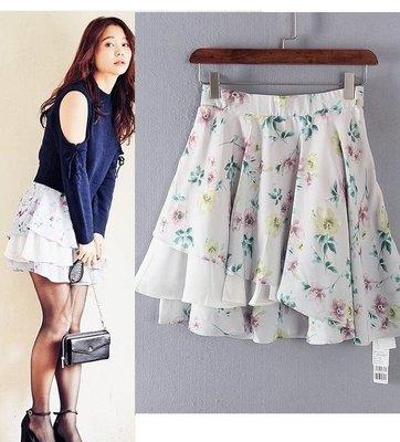 【WildLady】 日本超美不規則拼接印花短裙 A字裙COCO DEAL RENA*旗下