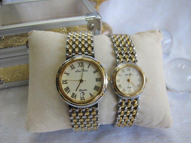 二手舖~ NO.6 高級時尚瑞士男女對錶 老闆慶祝3周年原價3230元優惠價1對只賣1600元 庫存全新品