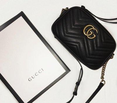 ❤羅莎莉歐美精品代購❤全新Gucci Marmont包 24cm (馬夢包)-各種顏色皆可代購-