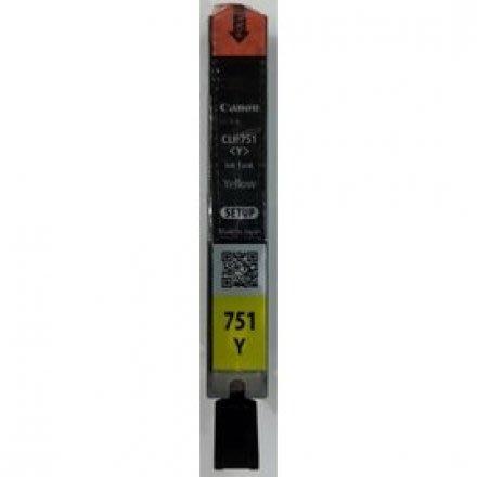 【CANON Y】CANON CLI-751Y 原廠黃色(裸裝)墨水匣(CLI-751)