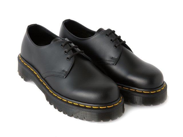 { POISON } Dr. Martens 1461 BEX 底部加厚最新粗獷設計 3孔皮鞋式厚底短靴 日雜質感強送